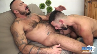 Alessio Romero and Teddy Torres at Bear Films
