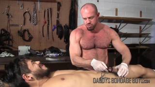 Breaking & Entering Part 8 at Daddy's Bondage Boys