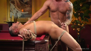 Kaden Alexander and Colby Jansen at Bound Gods