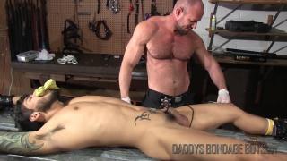 Breaking & Entering Part 9 at Daddy's Bondage Boys