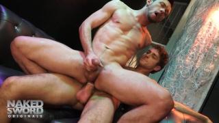 Calvin Banks and Micky Jr at Naked Sword
