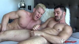 Brogan Reed & Johnny V at American Muscle Hunks