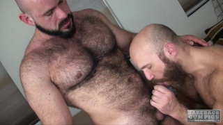 Marco Bolt and Nixon Steele at bareback cum pigs