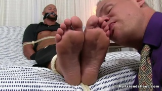 Jason James and austin andrews at my friends' feet