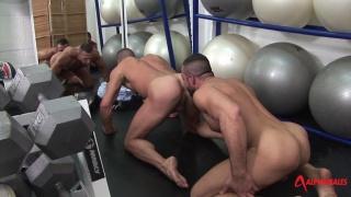 Antonio Cavalli and Marco Salqueiro at alpha males