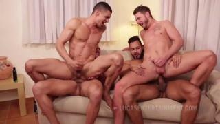 Ibrahim Moreno, viktor rom, Javi Velaro, Josh Rider at Lucas Entertainment