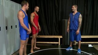 Javier Cruz, Caleb Troy & Derek Reed at Men Over 30