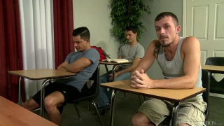 Ethan Slade, Jimmie Slater & Lance Barr at extra big dicks