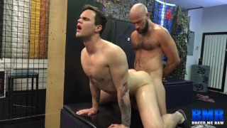 Damon Andros and Beau Reed at breed me raw