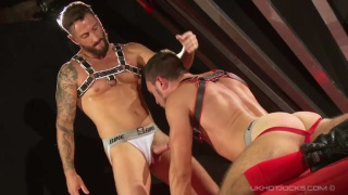 Nick North fucks Gaston Croupier at uk hot jocks