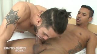 Marcelo Mastro and Flavio Canto at bang bang boys
