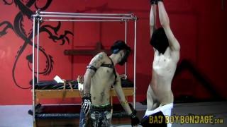 Damien Rage, Ryann Ruckers at Bad Boy Bondage