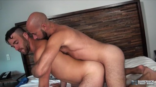 Alex Mason and Damon Andros at Bareback That Hole