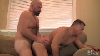 REAL COUPLE GIOVANNI AND VINO at Hot Older Male