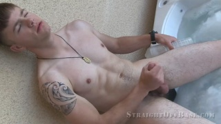 Corporal Jax Solo at Straight Off Base
