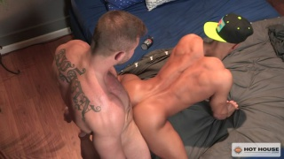 Sean Zevran and Austin Wolf at Hot House
