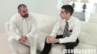 bishop angus fucks elder ricci at mormon boyz