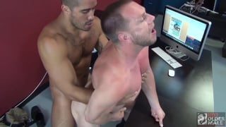 Trey Turner and Hans Berlin at Hot Older Male