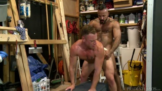 Alessio Romero and Saxon West at men over 30