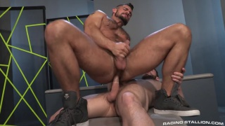 Aarin Asker & Bravo Delta at Raging Stallion