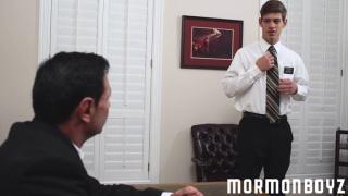 elder sorensen introduces elder ence to mormon boyz order