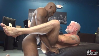 OSIRIS BLADE and JAKE MARSHALL at Hot Older Male