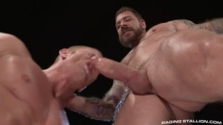 Johnny V and Rocco Steele at Raging Stallion