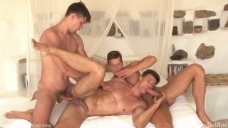 Antony Lorca, Rhys Jagger and Andrei Karenin at bel ami