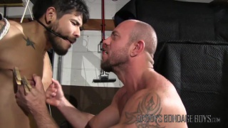 Breaking and Entering Part 7 at Daddy's Bondage Boys