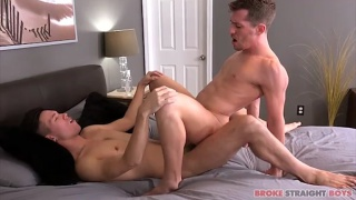 Shawn Andrews and Issac Lin  at Broke Straight Boys