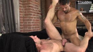 Alex Mecum and Adam Ramzi at Titan Men
