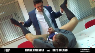 Dato Foland and Frank Valencia at Men at Play