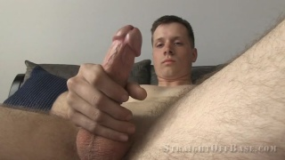 corporal Damon at Straight Off Base
