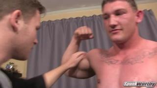 Avery fucks Declan bareback at spunkworthy