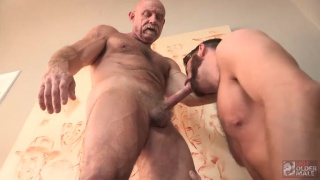 Conor Harris and Brendan Patrick at Hot Older Male