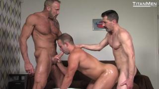 Dallas Steele, David Anthony & Luke Adams at Titan Men