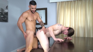 Dennis West and Arad Winwin at drill my hole