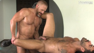 Adam Ramzi & Dirk Caber at Titan Men
