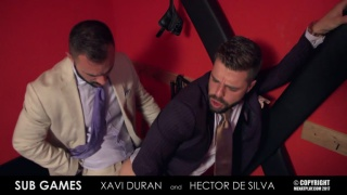 HECTOR DE SILVA & XAVI DURAN at men at play
