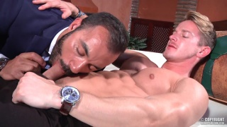 DARIUS FERDYNAND and XAVI DURAN at men at play