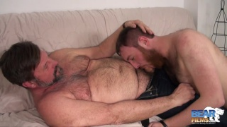 Chris Mine and Colt Cox at bear films