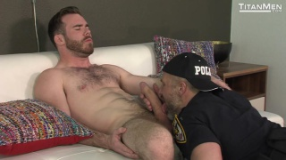 dirk caber and matthew bosch at titan men