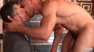 DATO FOLAND and JAY ROBERTS at men at play