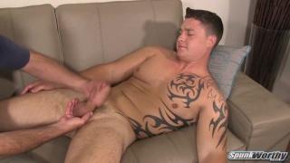 Jayson's surprise handjob at spunkworthy