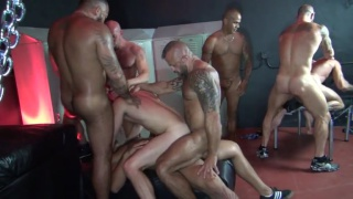 Big Sex Club Orgy Part 1 at Raw Fuck Club