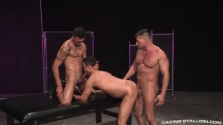Josh Conners FX Rios and Bruce Beckham at Raging Stallion