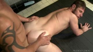 Darin Silvers and Luke Ewing at Men Over 30