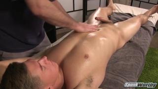 Anthony's massage at Spunkworthy