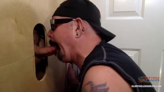 First Time At Gloryhole Daddy Cock at Gloryhole Hookups