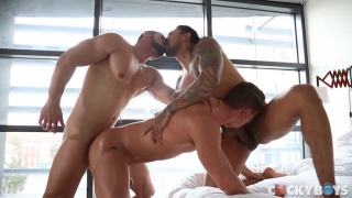 Skyy Knox, Boomer banks & Arad WinWin at Cocky Boys